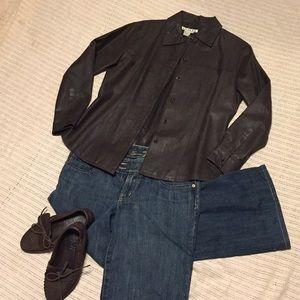 Beautiful soft leather shirt/jacket